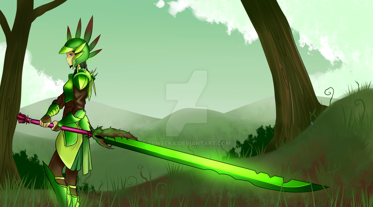 Blade Of Grass By Suweeka On Deviantart