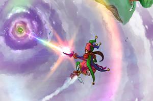 Orbital Rainbow Strike