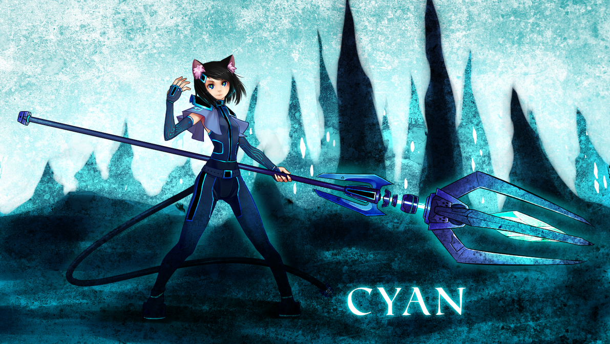 CYAN by Suweeka
