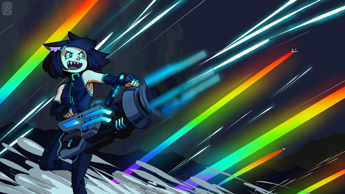 terraria laser machine gun
