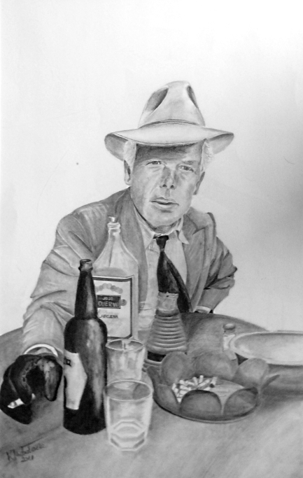 Lee Marvin by keat1905