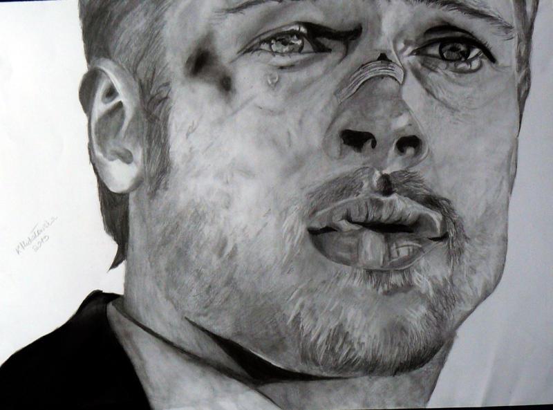 Brad Pitt by keat1905