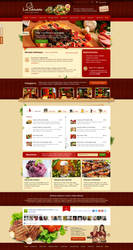 Restaurant and Hotel Template for SHEAN web agency