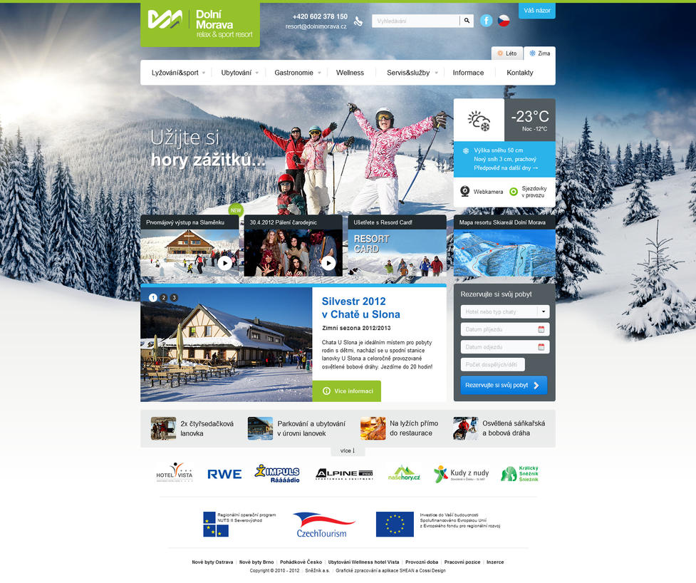 Dolnimorava.cz - relax and sport resort by romankac