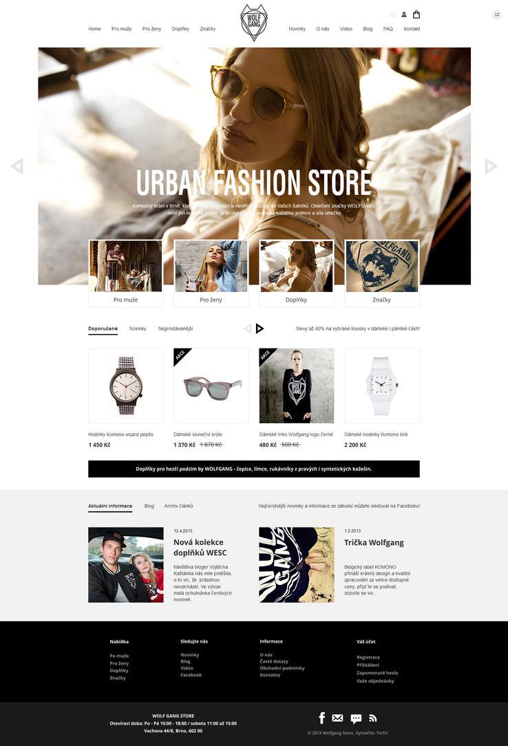 Wolfgang fashion store by romankac