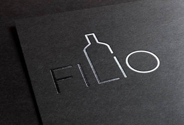 FILIO Wine logotype by romankac