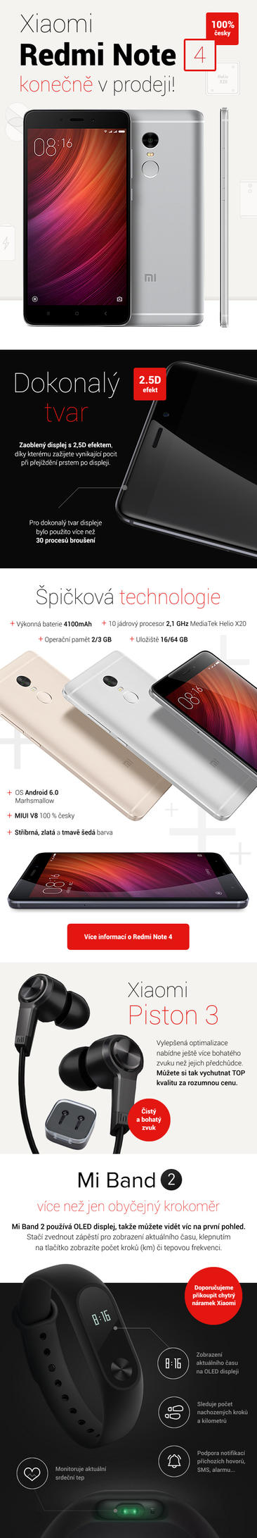 Xiaomi Redmi Note 4 newsletter by romankac