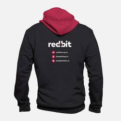 Redbit Hoodie by romankac