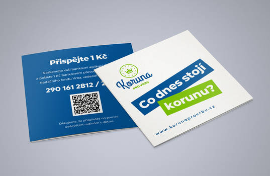 Korunaprovrbu.cz - Brochure design