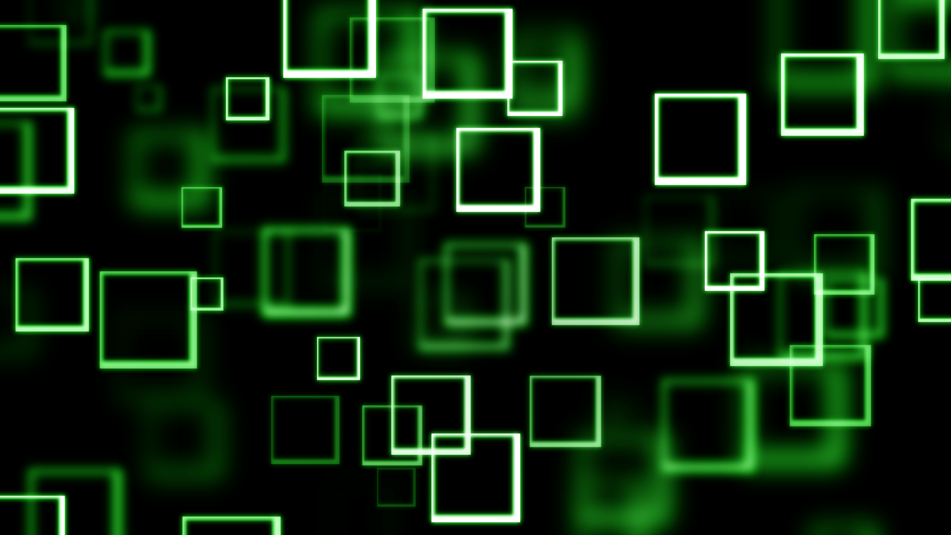 Green Bokeh SQUARES! by DefectiveDre on deviantART