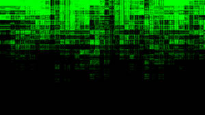 Intensely Green Chaos Wallpaper