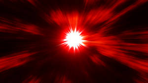 Red Explosion Wallpaper