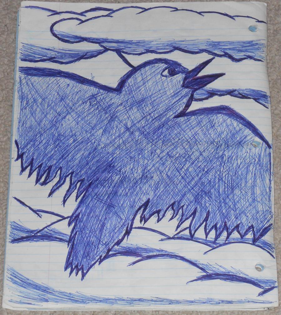 Flying Bird Drawing