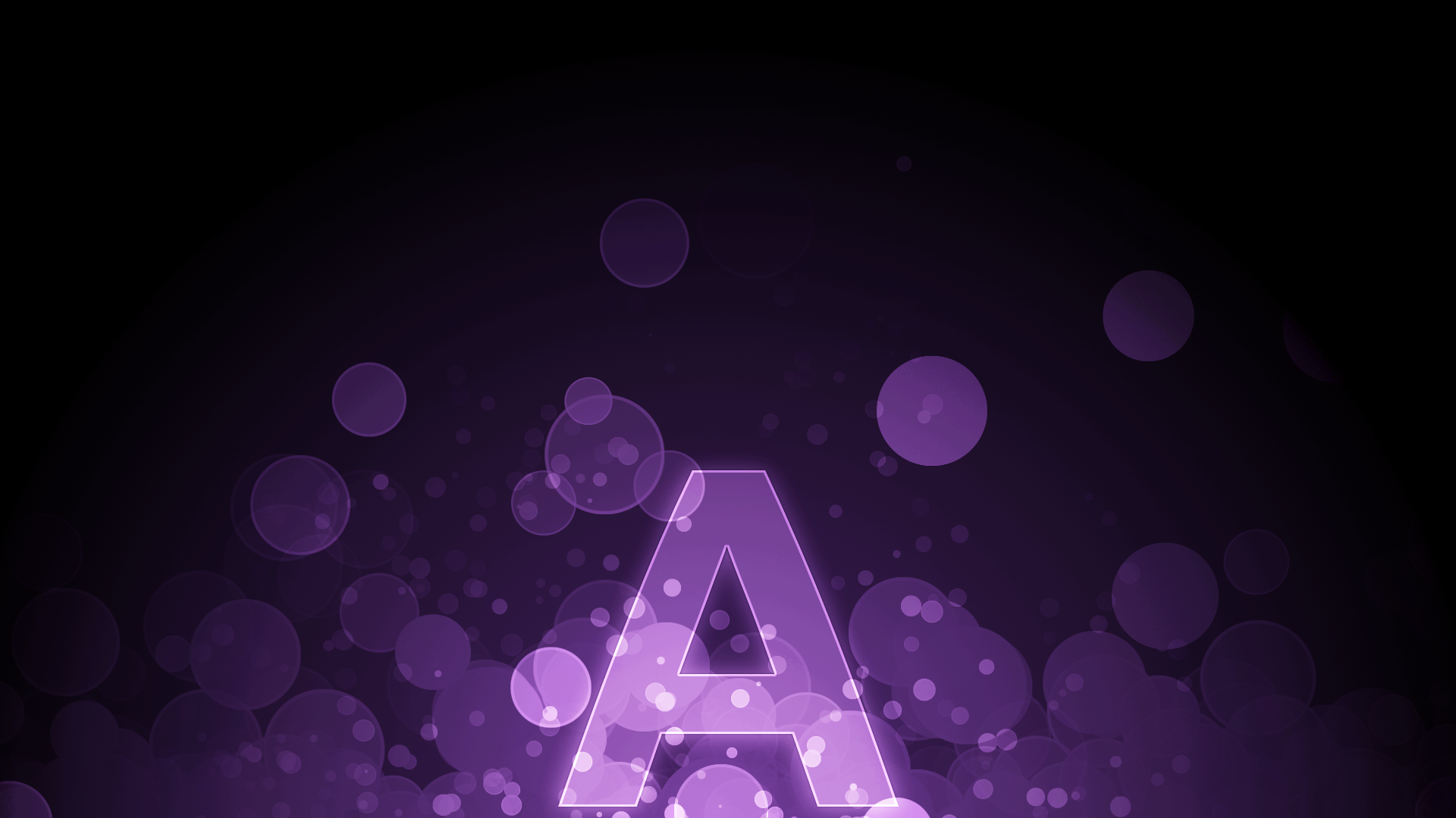 Purple Circles A Wallpaper