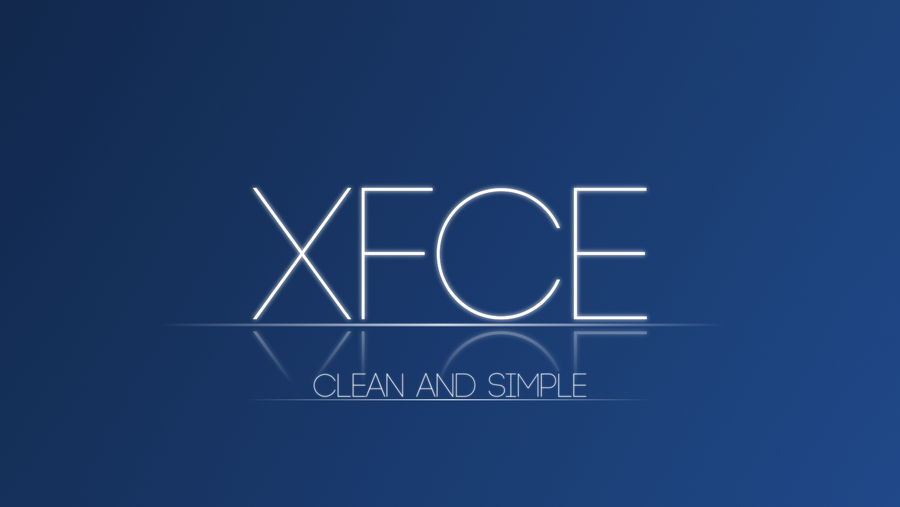 Clean and Simple XFCE Wallpaper