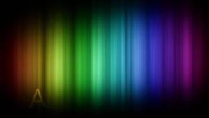 Rainbow A Wallpaper