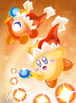 Beam Kirby and Waddle Doo