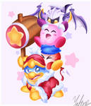 Kirby and friends!
