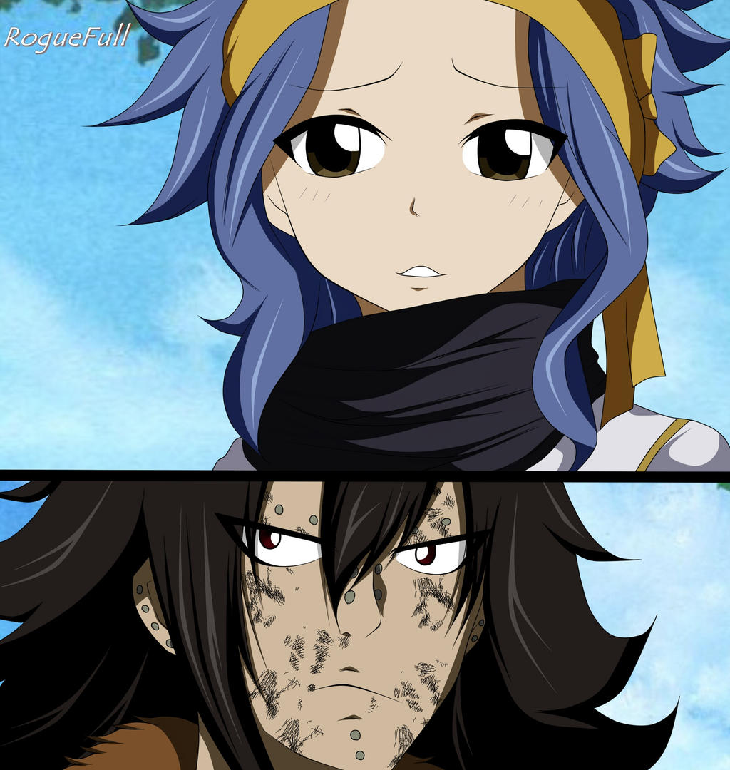 Gajeel and Levy Fairy Tail Manga 486 by RogueFull on ...