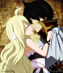 Zeref y Mavis Fairy Tail (Collab) by RogueFull