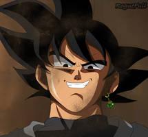Black Goku Dragon Ball Super Manga 14 by RogueFull