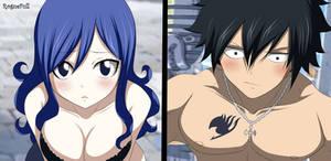 Gray y Juvia Fairy Tail Manga 545