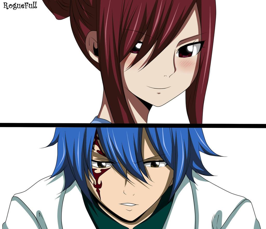 Mangaku Fairy Tail 545: Erza Y Jellal Fairy Tail Manga 545 By RogueFull On DeviantArt