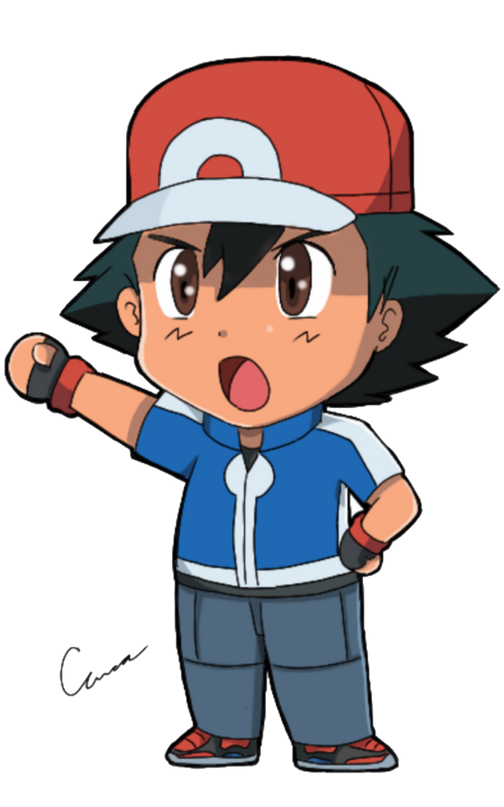 X And Y Anime Characters : Chibi ash by trainerashandred on deviantart