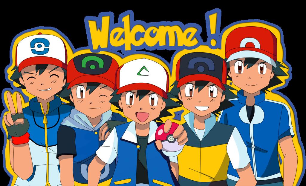Pokemon Ash Ketchum Fan Art Images