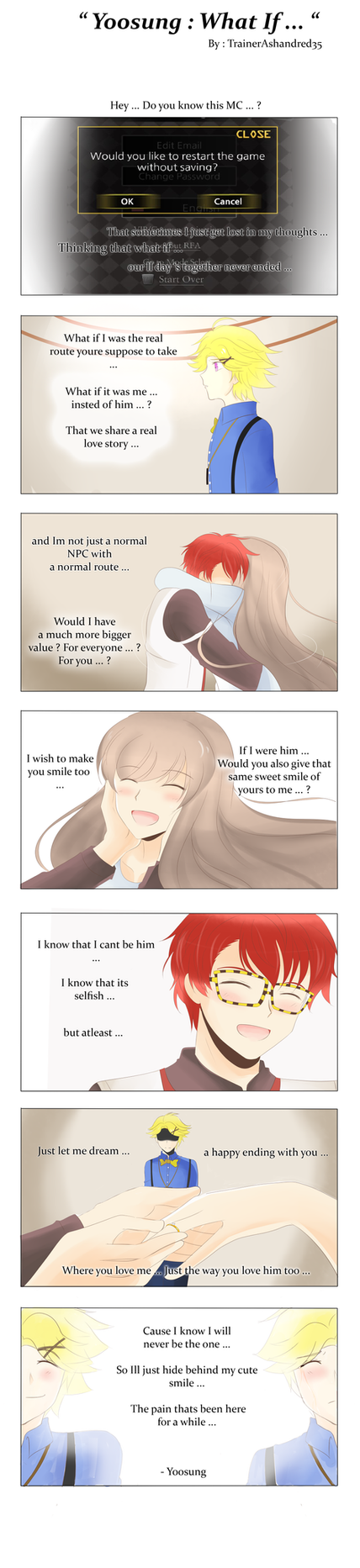 Yoosung : What If ... by TrainerAshandRed35