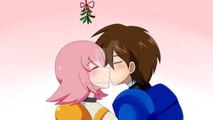 CM:Happy New Year Megaman X and Nana