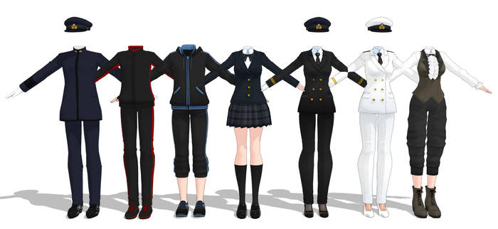  Download Series   Various Outfits