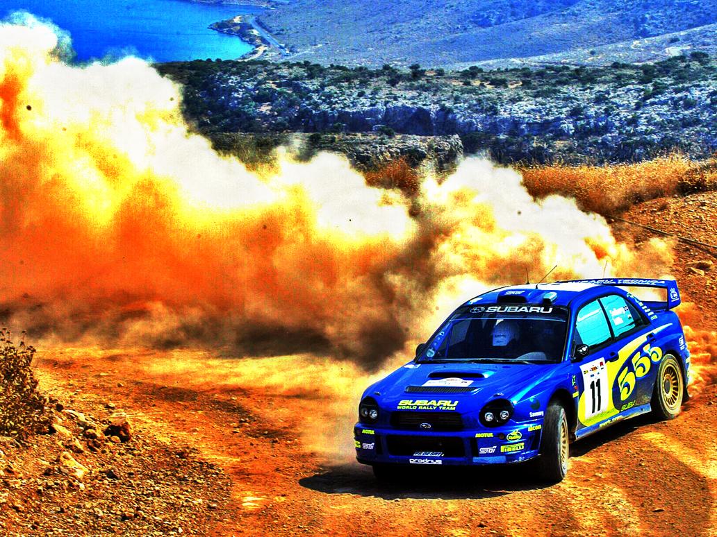 HDR Subaru Rally Car by