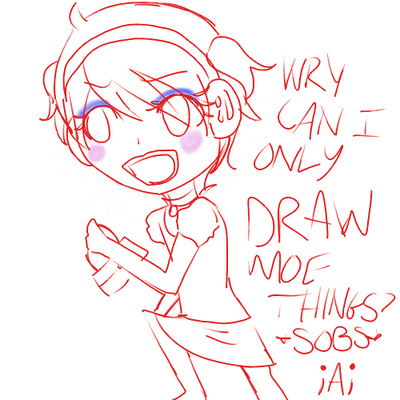 Why can i only draw moe things by yukino hasegawa on for Things i can draw