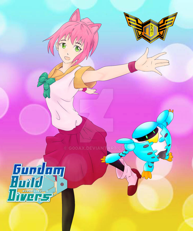 Momo[Gundam Build Diver] by G9AX on DeviantArt