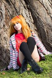 Asuka Soryu Langley Cosplay - Casual Version
