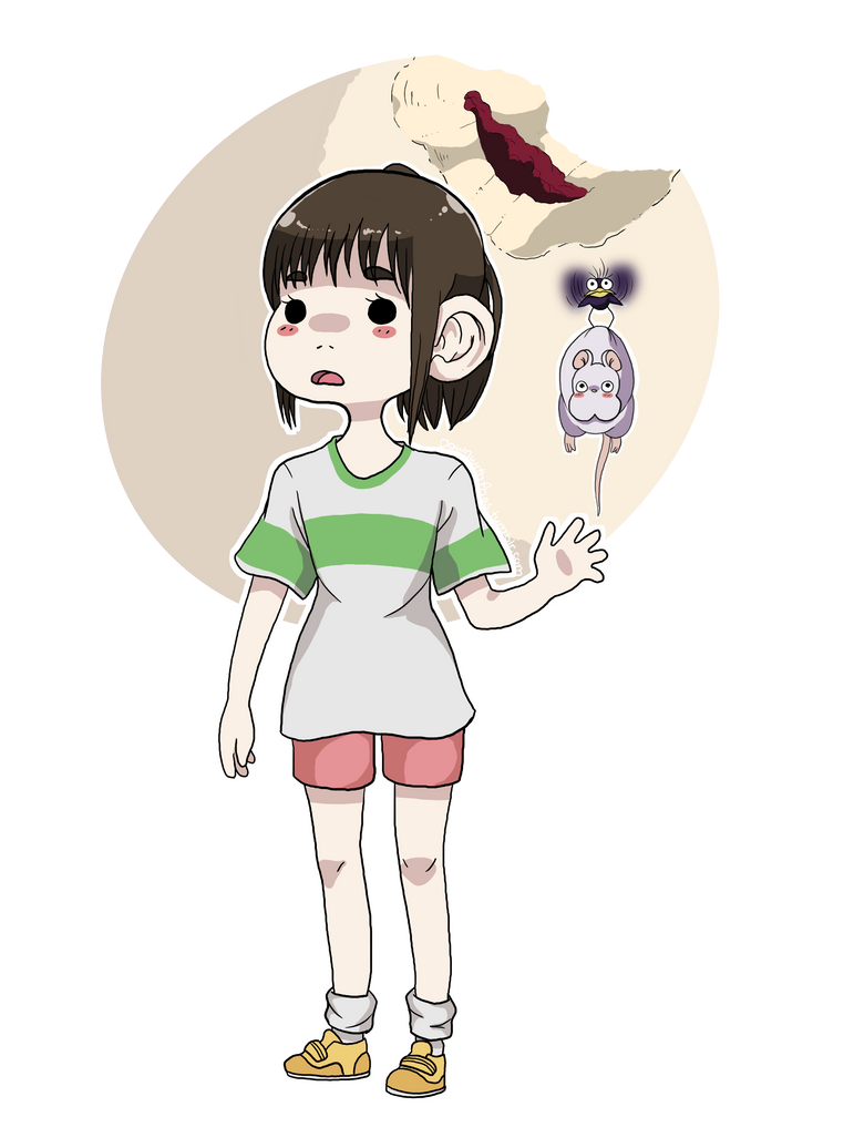 Chihiro (Transparent) by Teragrams