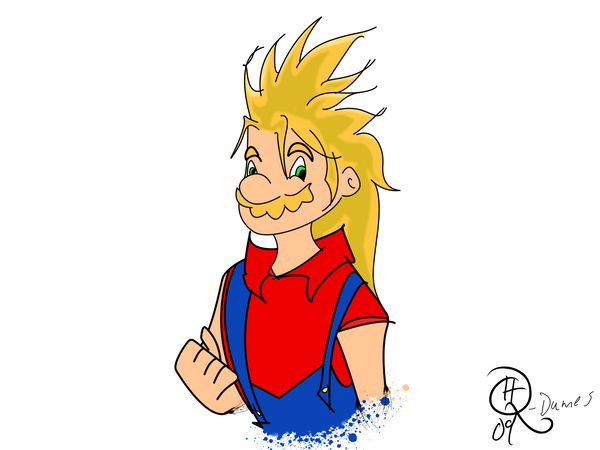 Limpurtikles Mario Colored: Super Saiyan Mario Colored By MxonerSkittleDip On DeviantArt