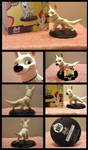 Bolt Maquette Statue by CarlMinez