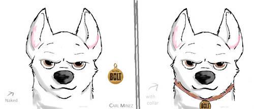 Bolt - I tried to draw stuffs by CarlMinez
