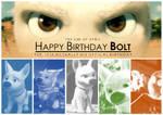 Happy Birthday Bolt by CarlMinez