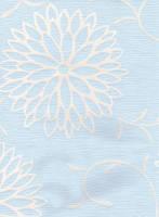light blue flowers by madragonn