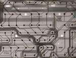 Futuristic Circuit Texture