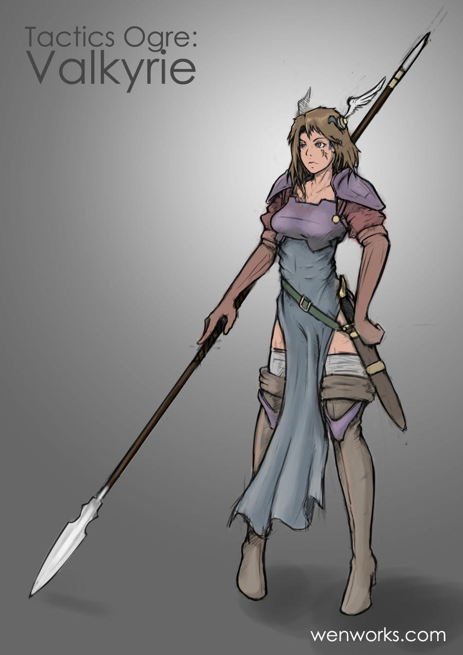 Tactics Ogre Valkyrie WIP1 by Unstable117 on DeviantArt