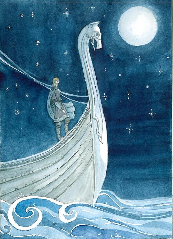 The stars shine brighter at sea by akitku