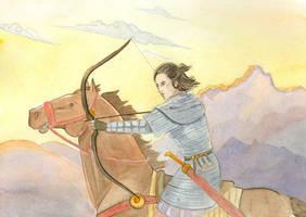Horse Archer by akitku