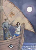 Night sailing by akitku