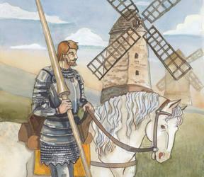 The Knight Errant by akitku