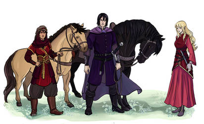 Adventurers by akitku