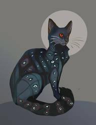 Seeingcat by akitku